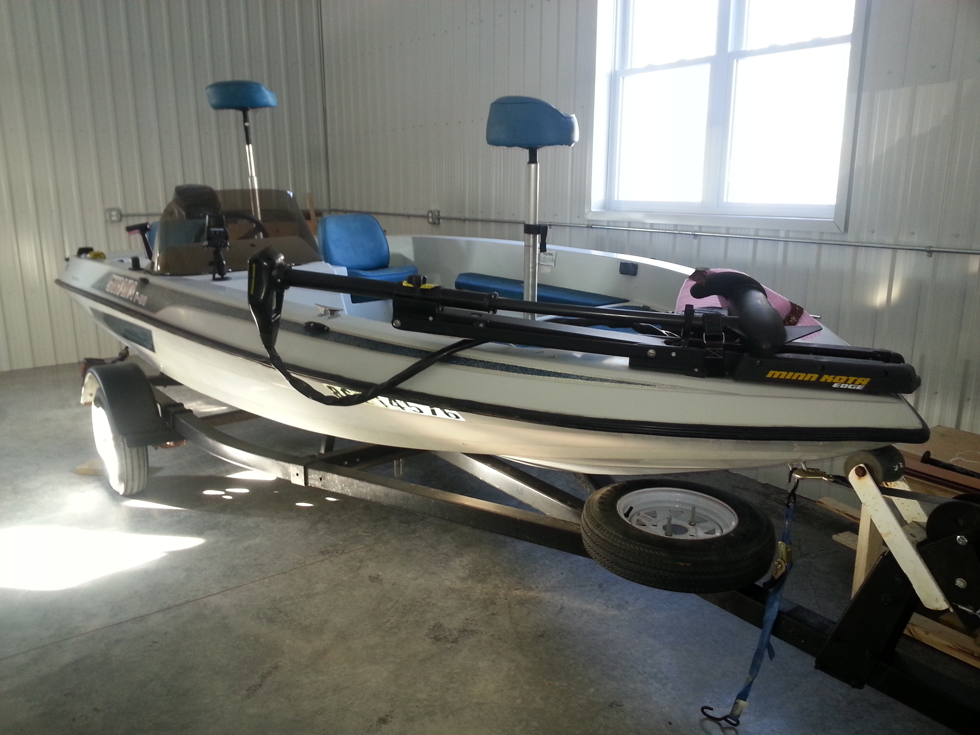 1987 Skeeter Bass Fishing Boat  SOLD