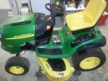 2006 Like new John Deere L120 used only 2 seasons – 1 owner   SOLD
