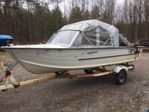 1982 16 foot Starcraft Aluminum Runabout SOLD